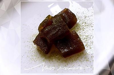 夏。黑糖粉粿。台灣古早味