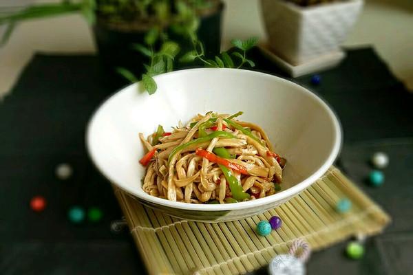 家常小菜~蚝油杏鲍菇的做法