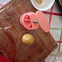 经典蛋黄莲蓉月饼#长帝烘焙节#的做法图解5