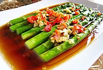 #快手菜#十分钟搞定清爽可口,芳香鲜美下饭菜--【白灼芦笋】的做法