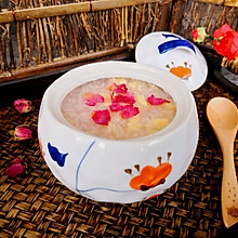 玫瑰花鸡蛋酒酿#快手又营养,我家的冬日必备菜品#