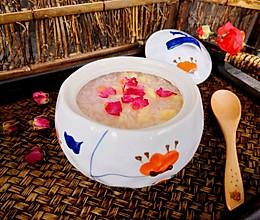 玫瑰花鸡蛋酒酿#快手又营养,我家的冬日必备菜品#的做法