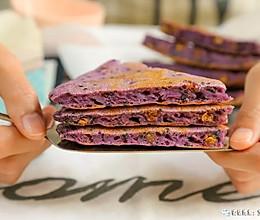 紫薯黑芝麻软饼 宝宝辅食食谱的做法