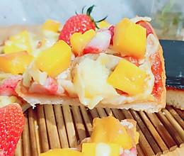 快手版秒杀必胜客的水果披萨的做法