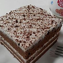 可可戚风奶油蛋糕