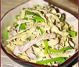 东北尖椒干豆腐的做法