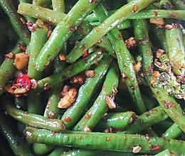 蒜泥豇豆的做法