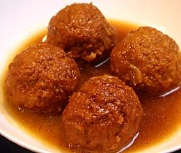 福禄寿喜到,吃了会好运的四喜丸子,肉香满口的做法