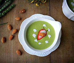 #发现粗粮之美#燕麦豌豆浓汤的做法