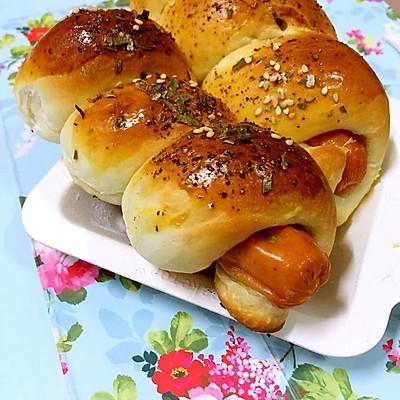 黑椒香肠面包