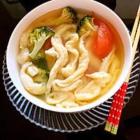 蔬菜疙瘩汤(面鱼儿)
