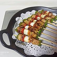 五彩牙簽烤肉 -ACA RT20電陶爐