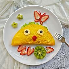 #秀出你的早餐#卡通蛋包饭