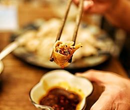 莲藕猪肉灌汤饺子的做法
