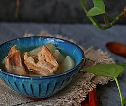 白萝卜排骨汤—电饭煲煲汤依然好喝#换着花样吃早餐#的做法
