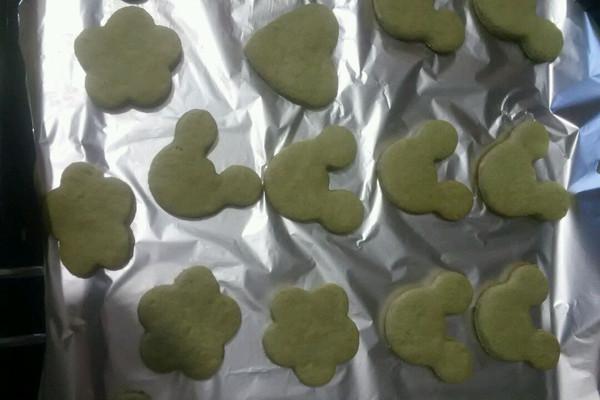 抹茶黄油小饼干的做法