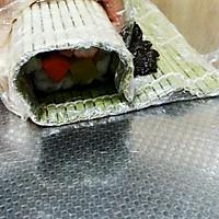 基础卷寿司(含寿司醋),反卷,握寿司,军舰寿司的做法图解8