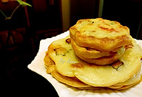 煎饼   秋葵辣椒煎饼的做法