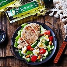#全电厨王料理挑战赛热力开战!# 鸡胸肉蔬菜沙拉