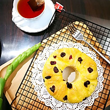 蔓越莓炼乳吐司面包