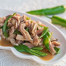 麻辣青椒炒猪肚-粤川菜的完美结合