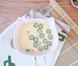 虾仁豆腐蒸蛋的做法