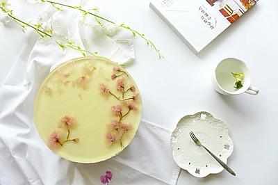 盛夏清凉甜品——酸奶黄桃奶酪慕斯