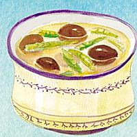 冬笋香菇汤