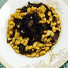 #养生菜谱#海带焖黄豆