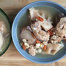 薏米枸杞莲藕汤