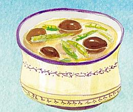 冬笋香菇汤的做法
