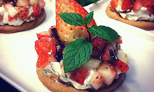 浓情草莓挞的做法