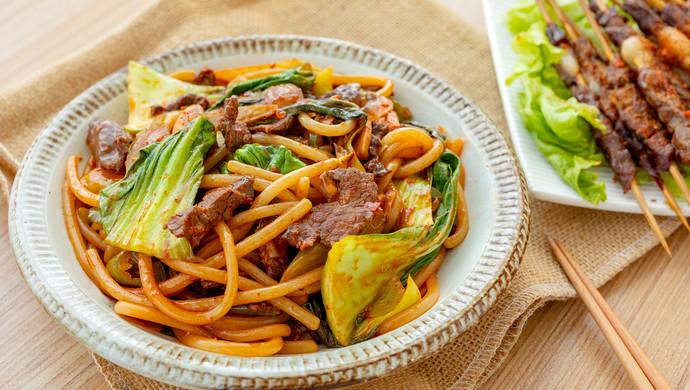 #肉食者联盟#新疆炒米粉|辣而不燥