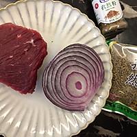 洋葱孜然牛肉的做法图解1