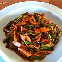 豆豉蘑菇油麦菜