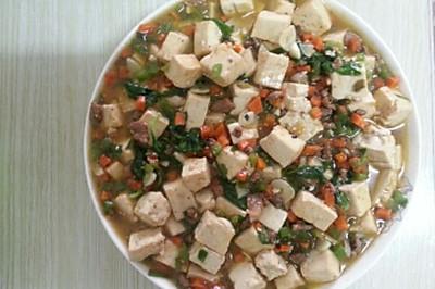 肉末豆腐点击