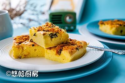 葱香肉松蛋糕