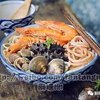 团圆海鲜面#盛年锦食.忆年味#