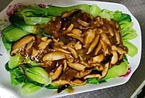 香菇油菜 好吃又减肥的做法