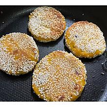 南瓜紫薯饼and紫薯豆沙饼