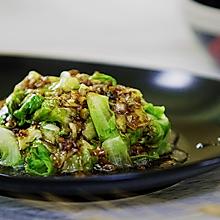 小羽私厨之蚝油生菜