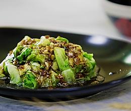 小羽私厨之蚝油生菜的做法