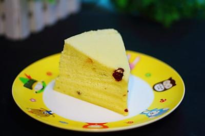 蒸小米蛋糕