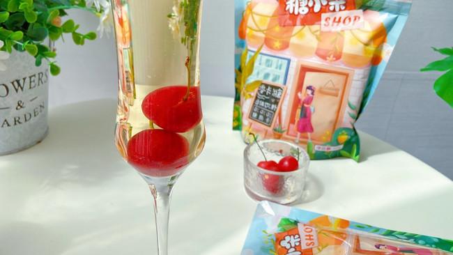 #糖小朵甜蜜控糖秘籍#青梅白桃鸡尾酒的做法