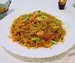 #好吃不上火#虾仁时蔬炒粉干的做法