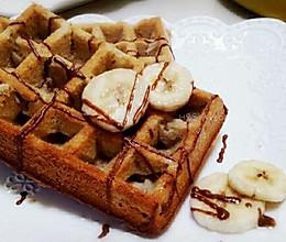 香蕉华夫饼