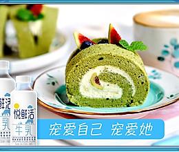抹茶蛋糕卷的做法
