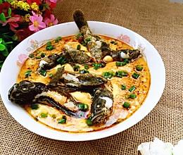塘鲤鱼蒸蛋#寻找最聪明的蒸菜达人#的做法