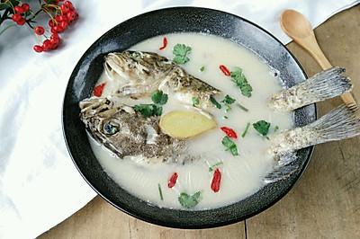 奶白黑鱼汤