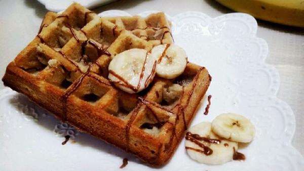 香蕉华夫饼的做法